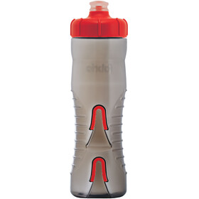 Fabric Cageless Bottle 750ml black/red